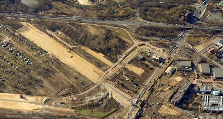 Luftaufnahme des BUND vom igs-Gelände (April 2011)