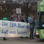 IBA-Bus Blockade